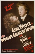 The World's Greatest Lover - Advance movie poster (xs thumbnail)
