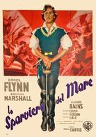 The Sea Hawk - Italian Movie Poster (xs thumbnail)