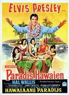 Paradise, Hawaiian Style - Belgian Movie Poster (xs thumbnail)