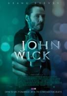 John Wick - Romanian Movie Poster (xs thumbnail)
