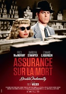 Double Indemnity - French Re-release movie poster (xs thumbnail)