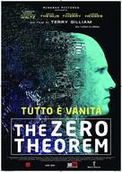 The Zero Theorem - Italian Movie Poster (xs thumbnail)