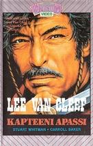 Captain Apache - Finnish VHS movie cover (xs thumbnail)