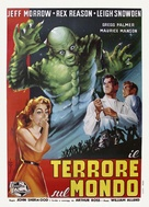 The Creature Walks Among Us - Italian Theatrical poster (xs thumbnail)