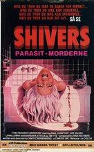 Shivers - Danish Movie Poster (xs thumbnail)