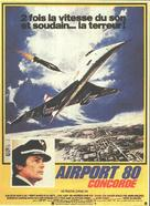 The Concorde: Airport '79 - French Movie Poster (xs thumbnail)