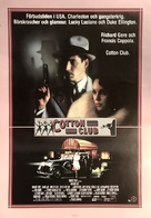 The Cotton Club - Swedish Movie Poster (xs thumbnail)