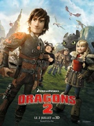 How to Train Your Dragon 2 - French Movie Poster (xs thumbnail)