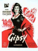 The Gypsy and the Gentleman - French Movie Poster (xs thumbnail)