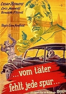 Lady in the Fog - German Movie Poster (xs thumbnail)