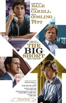 The Big Short - Dutch Movie Poster (xs thumbnail)