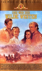 How the West Was Won - German VHS movie cover (xs thumbnail)