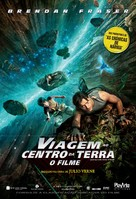 Journey to the Center of the Earth - Brazilian Movie Poster (xs thumbnail)