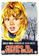 Whistle Down the Wind - Spanish Movie Poster (xs thumbnail)