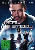 Real Steel - German DVD cover (xs thumbnail)
