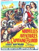 Fortunes of Captain Blood - Belgian Movie Poster (xs thumbnail)