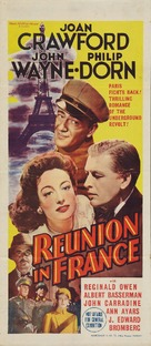 Reunion in France - Australian Movie Poster (xs thumbnail)