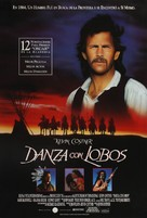 Dances with Wolves - Argentinian Movie Poster (xs thumbnail)