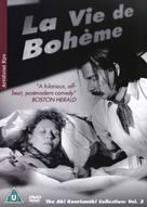 La vie de bohème - British Movie Cover (xs thumbnail)