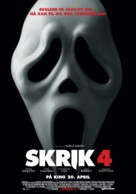 Scream 4 - Norwegian Movie Poster (xs thumbnail)