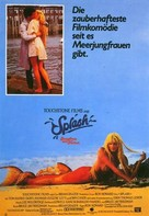 Splash - German Movie Poster (xs thumbnail)
