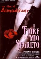 La flor de mi secreto - Italian Movie Poster (xs thumbnail)