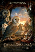 Legend of the Guardians: The Owls of Ga'Hoole - Brazilian Movie Poster (xs thumbnail)