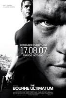 The Bourne Ultimatum - Movie Poster (xs thumbnail)