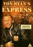 Von Ryan's Express - British DVD movie cover (xs thumbnail)