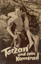 Tarzan and His Mate - Austrian Movie Poster (xs thumbnail)