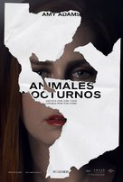 Nocturnal Animals - Argentinian Movie Poster (xs thumbnail)