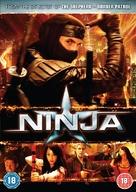 Ninja - British DVD cover (xs thumbnail)