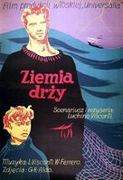 La terra trema: Episodio del mare - Polish Movie Poster (xs thumbnail)