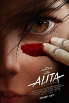 Alita: Battle Angel - Italian Movie Poster (xs thumbnail)