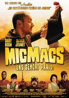 Micmacs à tire-larigot - German Movie Poster (xs thumbnail)