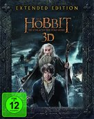 The Hobbit: The Battle of the Five Armies - German Blu-Ray cover (xs thumbnail)