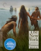 The New World - Blu-Ray movie cover (xs thumbnail)