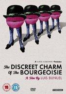 Le charme discret de la bourgeoisie - British DVD movie cover (xs thumbnail)