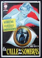 Street of Shadows - Spanish Movie Poster (xs thumbnail)
