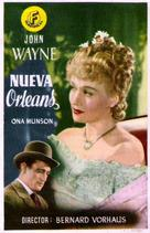 Lady from Louisiana - Spanish Movie Poster (xs thumbnail)
