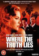 Where the Truth Lies - British Movie Cover (xs thumbnail)
