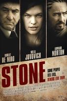 Stone - Belgian Movie Poster (xs thumbnail)
