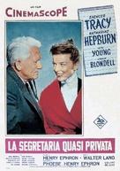 Desk Set - Italian Movie Poster (xs thumbnail)