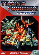The Transformers: The Movie - British DVD cover (xs thumbnail)
