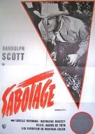 Carson City - German Movie Poster (xs thumbnail)