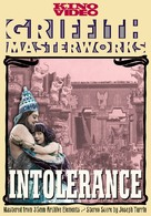 Intolerance: Love's Struggle Through the Ages - DVD cover (xs thumbnail)