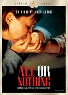 All or Nothing - Swedish DVD movie cover (xs thumbnail)