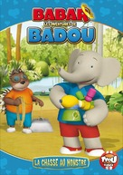 """""""Babar and the Adventures of Badou"""" - French DVD cover (xs thumbnail)"""