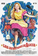 Alice's Adventures in Wonderland - Spanish Movie Poster (xs thumbnail)