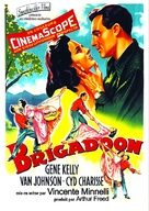 Brigadoon - French Re-release poster (xs thumbnail)
